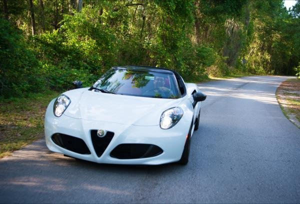 Showcase cover image for Alfa Romeo 4C Spider