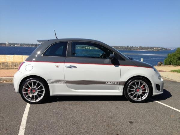 Showcase cover image for kaliber's 2013 Abarth 595