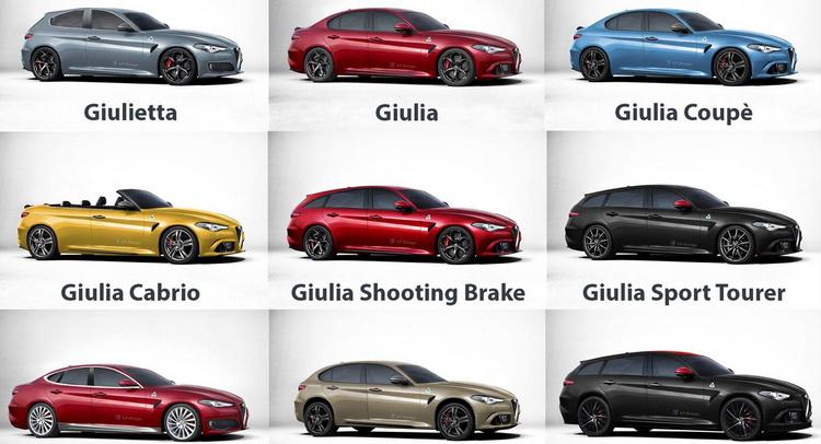 Alfa Romeo Models >> Hypothetical Alfa Romeo Model Line Up Alfa Romeo 4c Forums