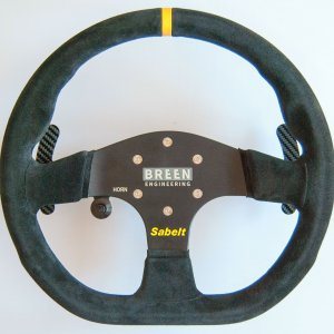 Breen Engineering Alfa Romeo 4C Racing Steering Wheel
